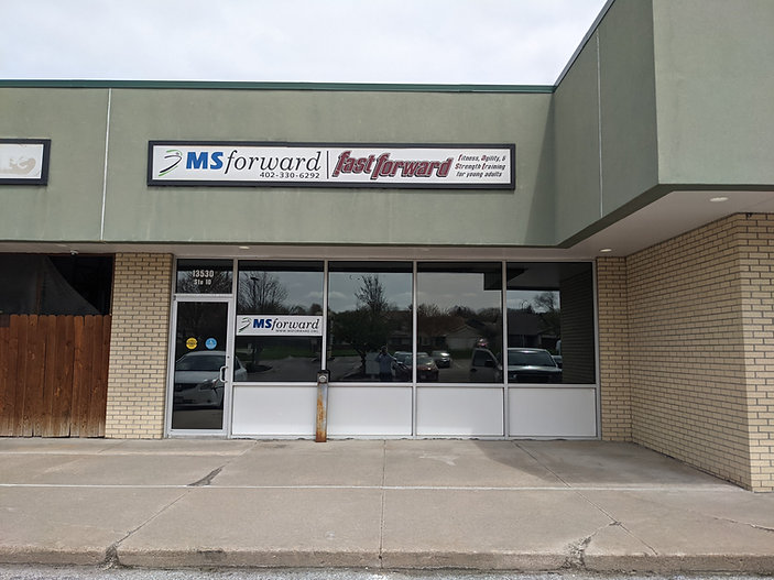 A picture of the front entrance of MSForward.
