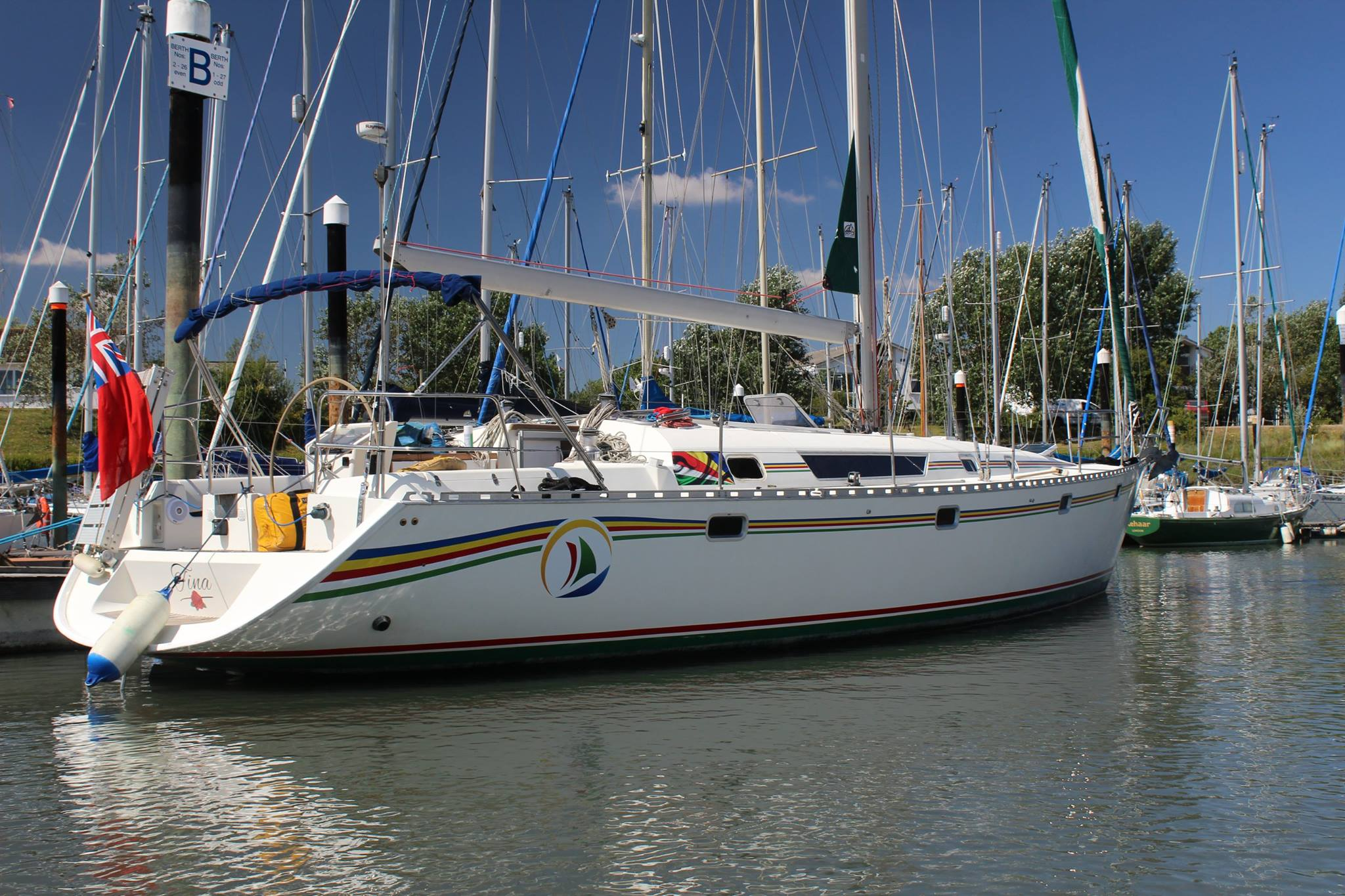 Seyscapes - Yacht Tina - Moored in Tollesbury