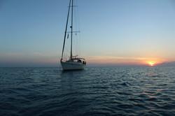 Seyscapes - Yacht Tina - Anchored at Bird Island