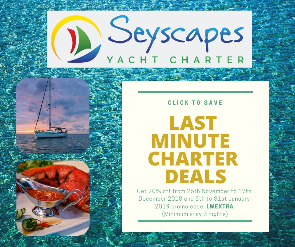 Seyscapes 20% OFF last minute deal
