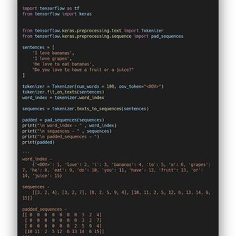 NLP with Tensorflow — Padding sentences