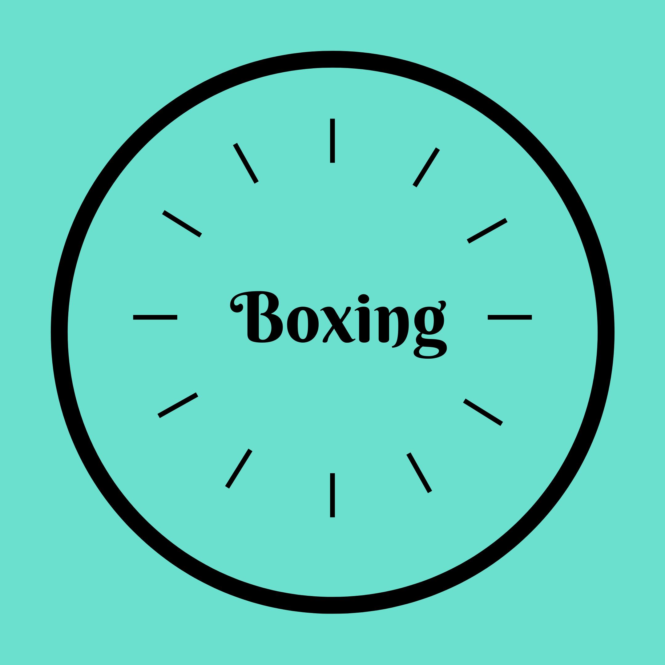 Boxing 5pm