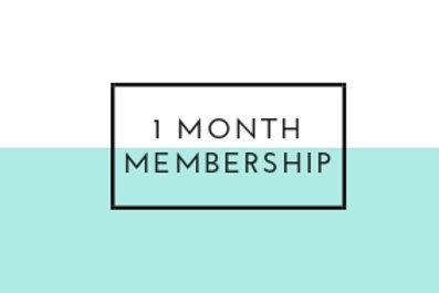 1 Month Gym Membership