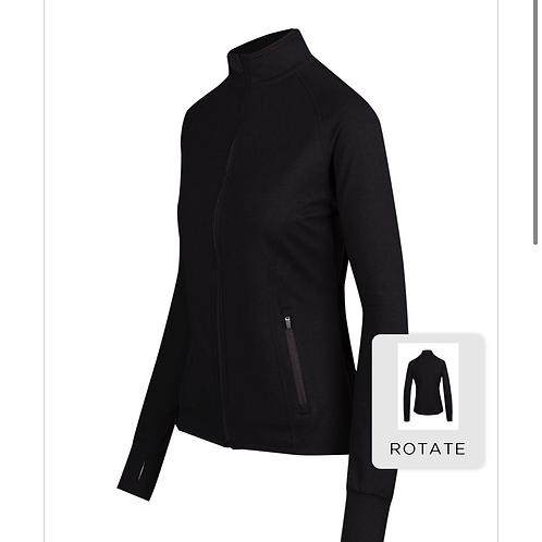 Spandex zip jacket