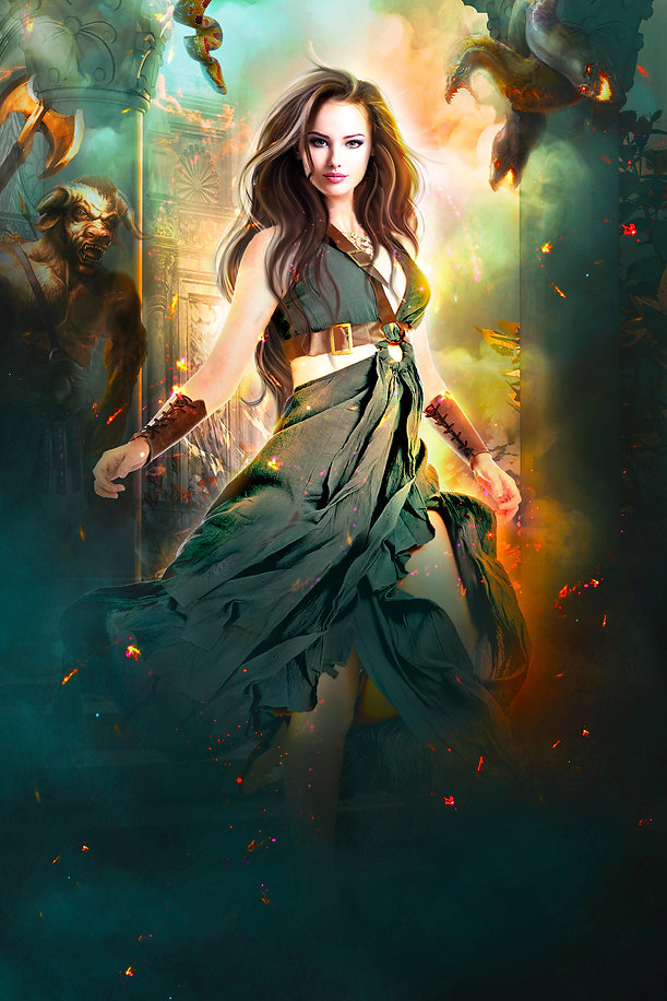 Tania Walsh.Harem of the Gods.Apollo Is