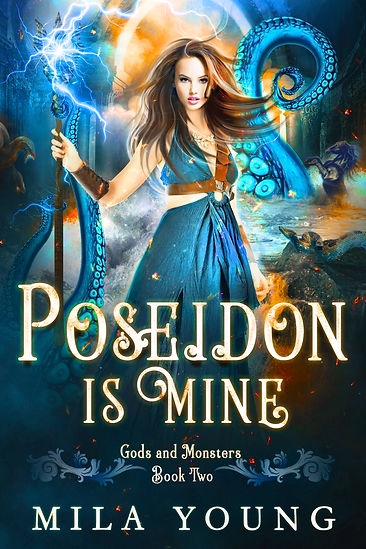 Mila YOung Gods and Monsters Poseidon Is