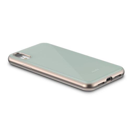 iGlaze obal hardshell pro iPhone XR, SnapTo ™ – Zelenomodrý