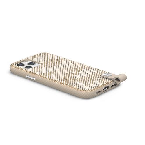 Pouzdro Altra pro iPhone 12/12 Pro, SnapTo ™ – Béžový