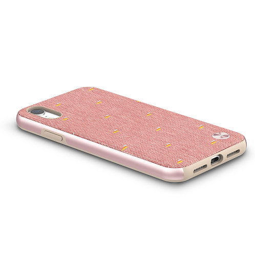 Vesta obal hardshell pro iPhone XR, SnapTo ™ – Růžový