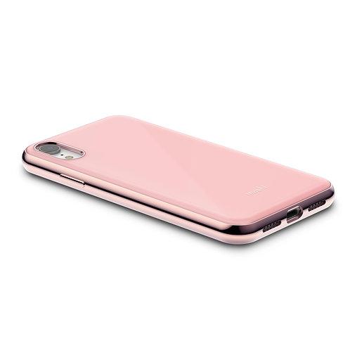 iGlaze obal hardshell pro iPhone XR, SnapTo ™ – Růžový
