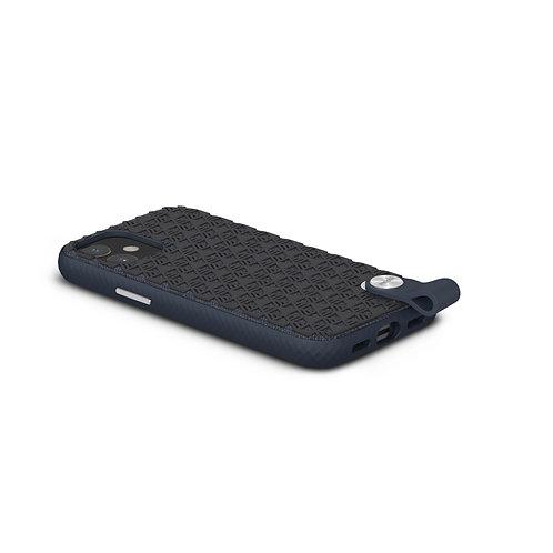 KoPouzdro Altra pro iPhone 12 mini, SnapTo ™ – Černomodrý