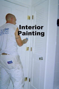 interior painting project Romeoville