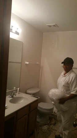 Painting a bathroom in Plainfield