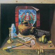 Oil on canvas 100x90cm 1998  Private collection