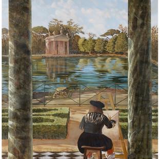 Paysage romain - Panoramique