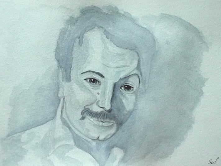Portrait - lavis