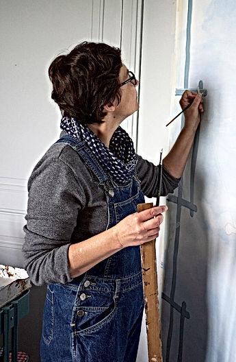 Atelier decors peints, Versailles