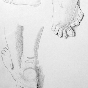Etude des pieds