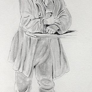 Homme inspiré de Charles Wesley Jarvis