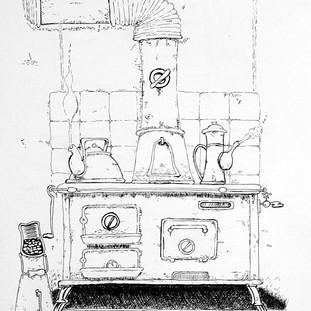 Cuisinière inspirée de Lelong