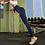 Thumbnail: Calças de ginástica ativas femininas leggings Full Tummy Control Sport Yoga