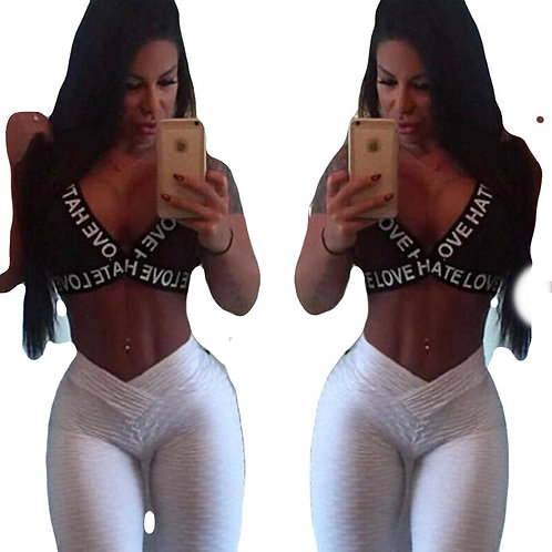 Gym Leggings Sport Women Fitness Yoga Pants Ladies Sports Pull Up Scrunch Butt
