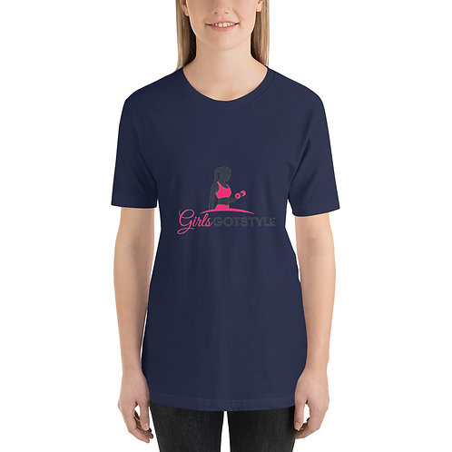 Girls girls got style pink logo T-Shirt