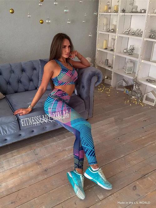 Yoga Set Sports Leggings Outfit bra + Leggings
