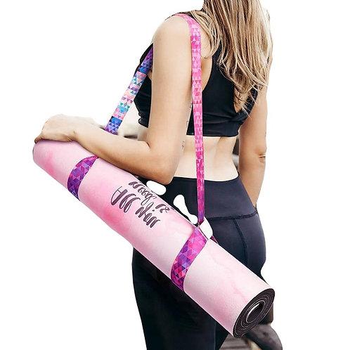 Tapete de ioga com alça de ombro ajustável para tapete de ioga