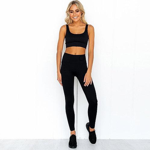 2pcs/Set Seamless Fitness Wear