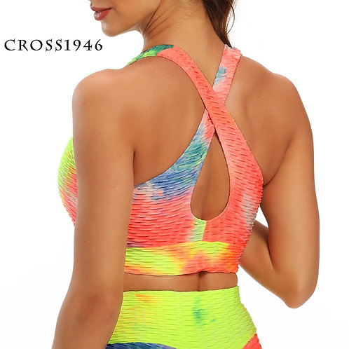Running Sports Bra Yoga  Workout Seamless Push Up Breathable  Top