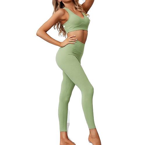 2 Piece Set Women Yoga Sets Fitness Wear