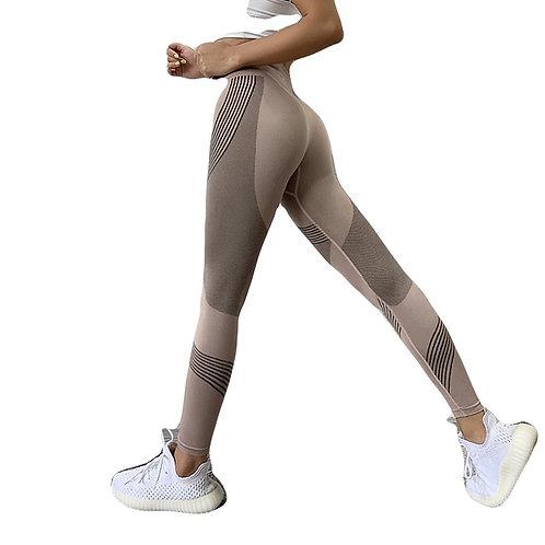 Fitness Running Yoga Calças Leggings Energy Seamless Ginásio Leggins Cintura Alta