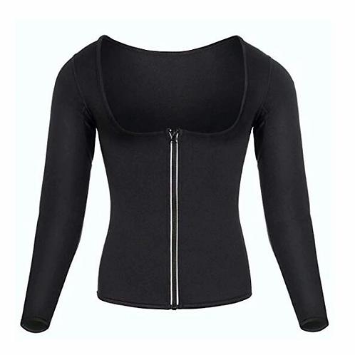 Women Sauna Suit Waist Trainer Neoprene Shirt for Sport Workout Corset
