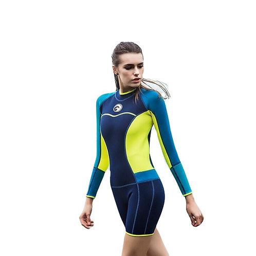 Wet Suit 1.5mm Neoprene, , Snorkeling, Water Sports, Warm, Outdoor Surfing