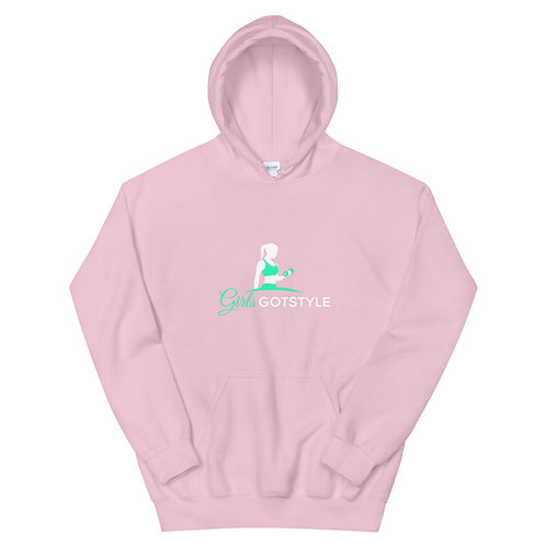 girls got style green logo Hoodie
