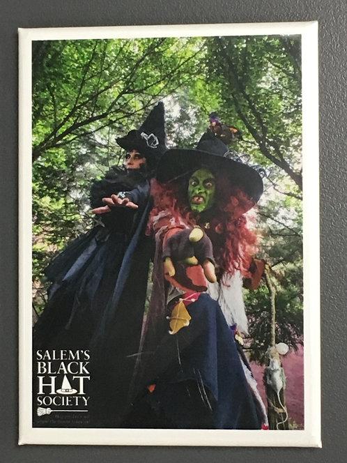 SALEM BLACK HAT SOCIETY MAGNET