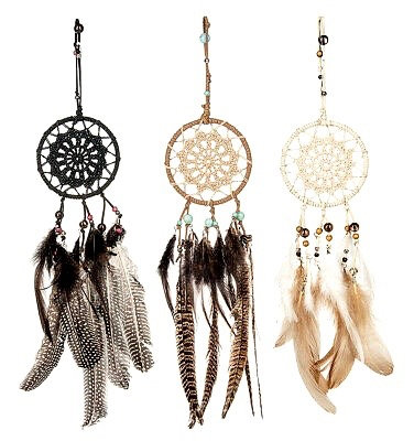 "FEATHERED 14"" DREAMCATCHER"