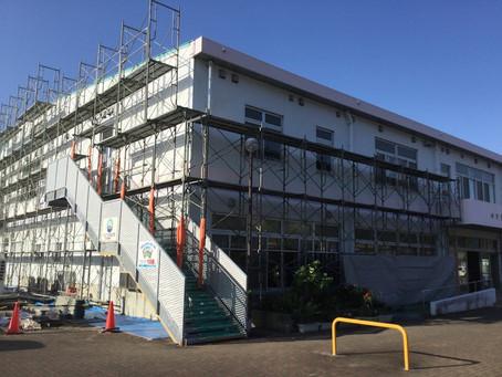 「せとうち海の駅」外壁塗装防水改修工事について