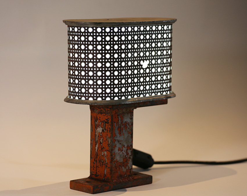Luminária palhinha