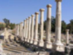 Roman Columns in Beit Shean.jpg
