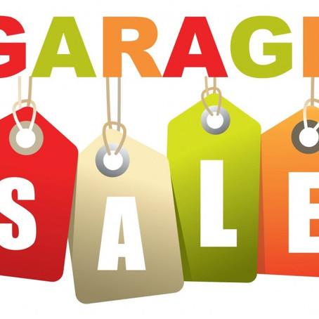 Newtown Grant Annual Garage Sale 2019