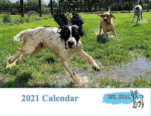 2021 Sit. Stay. Calendar