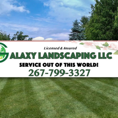 Galaxy Landscaping LLC - May-June Newsletter Supporter