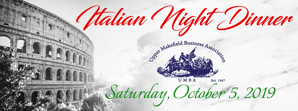 Upper Makefield Business Association Italian Night Dinner