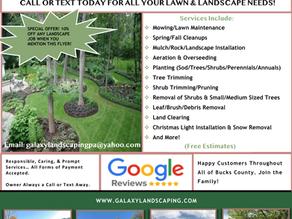 Galaxy Landscaping LLC