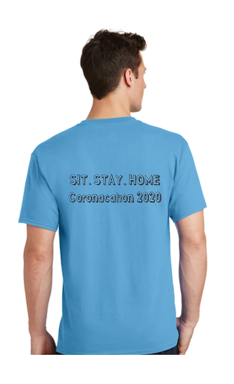 Sit. Stay. Home T-shirt Coronaction