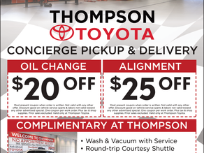 Thompson Toyota - May-June Newsletter Supporter