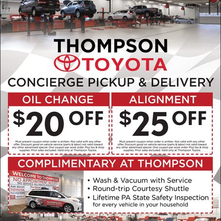 Thompson Toyota - May-June Newsletter Supporter