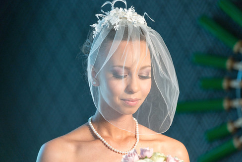 Bridal print makeup